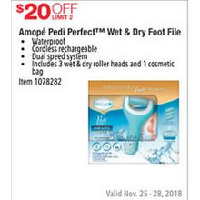 Amope Pedi Perfect Wet & Dry Foot File $20 OFF