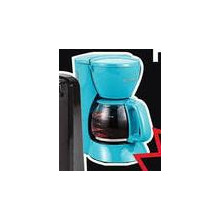 Kitchen Selectives 5-cup Blue Coffee Maker w/ Pause & Serve