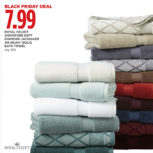 Royal Velvet 30x54 in. Solid Bath Towel