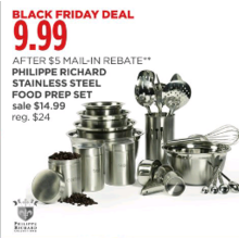 Philippe Richard Stainless Steel Food Prep Set [Rebate]