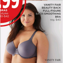Vanity Fair Beauty Back Full-Figure Back-Smoothing Bra