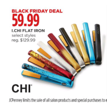 Chi Flat Iron (Assorted Colors)