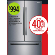 Samsung French Door 26-cu. ft. Refrigerator