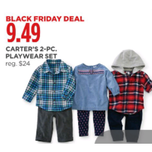 $9.49 Carters 2-pc. Playwear Set
