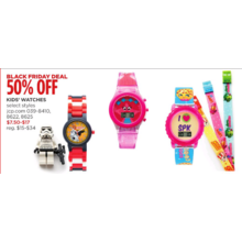 50% Off Kids' Watches (Assorted)
