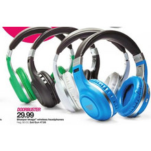 Sharper Image Green Bluetooth Headphones
