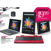 "Polaroid 10.1"" 2-In-1 Tablet w/ Keyboard"