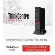 Lenovo M700 Tiny ThinkCentre Desktop Tower