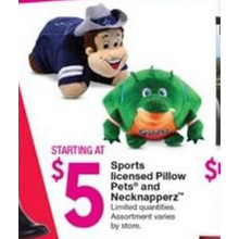 Sports Pillow Pets [EarlyBird]