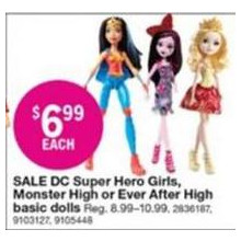 DC Super Hero Girls Basic Dolls