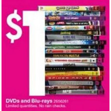 $1 Blu-Rays (Assorted Titles) [EarlyBird]
