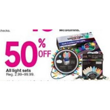 50% OFF Light Sets [EarlyBird]