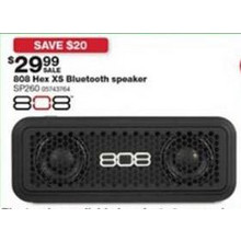 808 Hex XS Bluetooth Speaker (SP260)