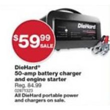 DieHard 50-amp Battery Charger & Engine Starter