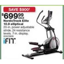 Nordictrack Elite 10.9 Elliptical [EarlyBird]