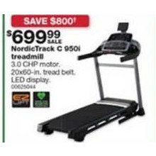 NordicTrack C 950i Treadmill + $50 in Points