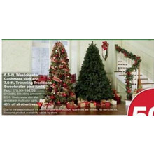 50% OFF Donner and Blitzen, Inc 6.5-ft. Westchester Slim Cashmere Pine