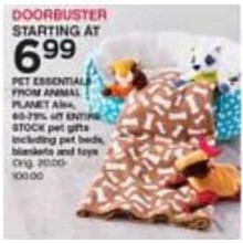 Animal Planet Pet Essentials [EarlyBird] FROM 6.99