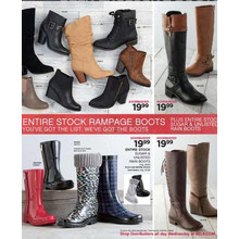 Rampage Boots (Assorted) [EarlyBird]