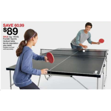 Franklin Sports Quikset Table Tennis Regulation-Size Table