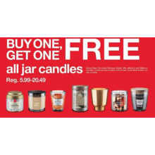 BOGO Free Jar Candles
