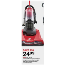 Dirt Devil Pro Express Upright Vacuum