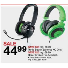 $35 Off Turtle Beach Earforce XO One