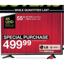 "LG 55""  Ultra HD TV"