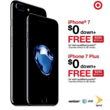 iPhone 7 Plus From $0 Down