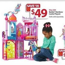 Barbie Rainbow Castle Playset