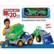 Ground Breakers Trucks (2-pk.)