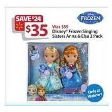 Disney Frozen Singing Sisters Anna & Elsa 2-pk.