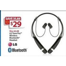 LG Tone Pro Wireless Bluetooth Headset