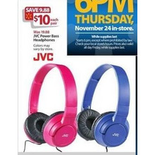 JVC Power Bass Headphones
