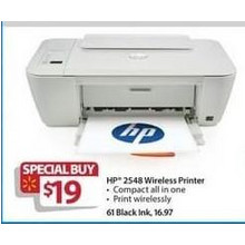 HP 2548 Wireless Printer