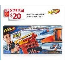 Nerf N-Strike 2-In-1 Elite Demolisher
