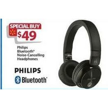 Philips Bluetooth Noise-Canceling Headphones