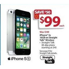 Straight Talk Wireless iPhone 5s 16GB