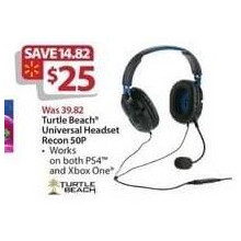 Turtle Beach Recon 50P Universal Headset
