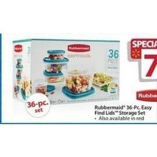 Rubbermaid 36-pc. Easy Find Lids Blue Storage Set