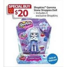 Shopkins Gemma Stone Shoppies Doll