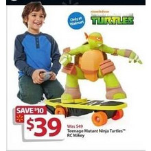 Teenage Mutant Ninja Turtles RC Mikey