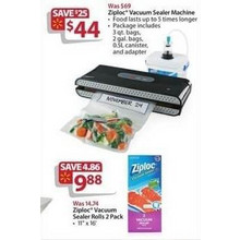 Ziploc Vacuum Sealer Machine