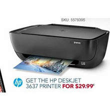 HP Deskjet 3637 Printer