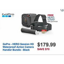 GoPro Hero Session HD Waterproof Action Camera + Head Strap