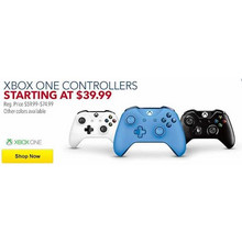 Xbox One Controllers (Assorted Colors)