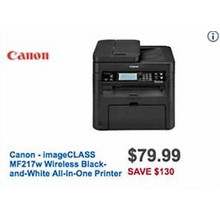 Canon Wireless Black & White All-in-One Printer (ImageCLASS MF217w)
