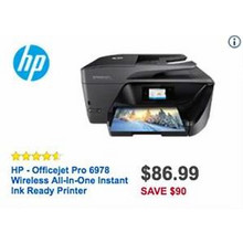 HP Wireless All-in-One Printer (Office Jet Pro 6978)