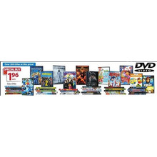 $1.96 Assorted DVD's