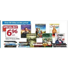 $6.96 Assorted DVD's